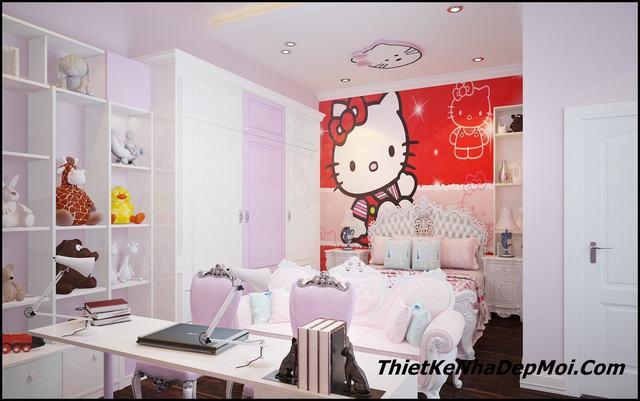 trang trí nội thất căn hộ 3 phòng ngủ