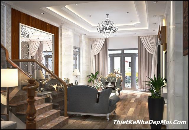 nội thất nhà hiện đại 6m