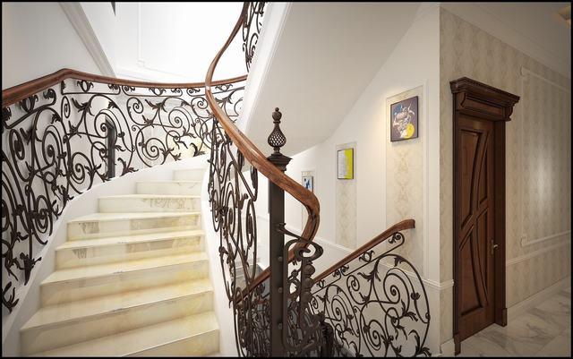 thiết kế nội thất nhà phố 100m2