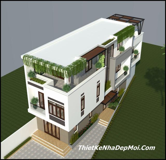 Mẫu thiết kế nhà thóp hậu