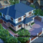 Nhà mái ngói 140m2