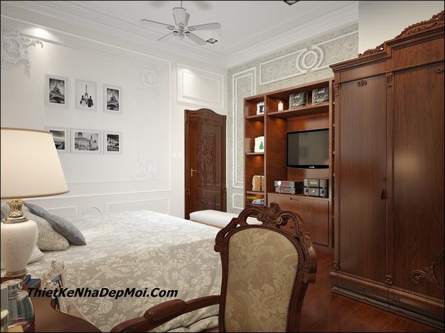 Phòng ngủ tân cổ điển đẹp nhất 2020