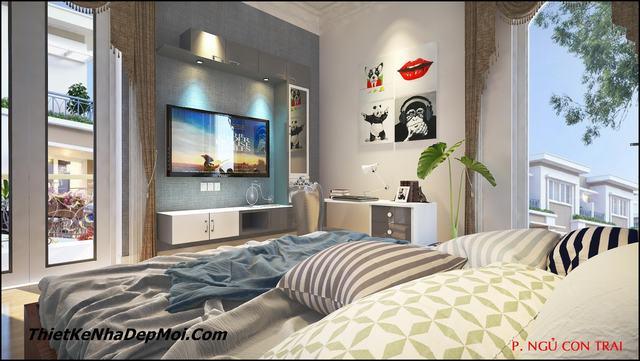 Xu hướng thiết kế nội thất biệt thự năm 2020