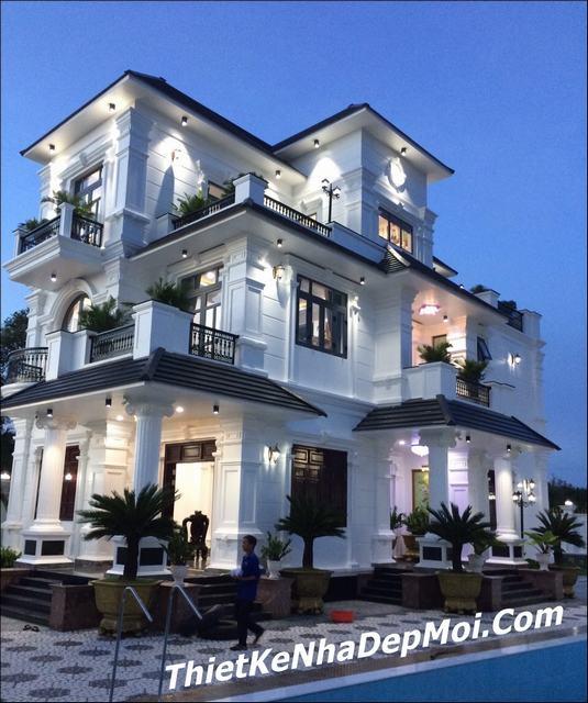 Biệt thự nhà vườn 2 tầng đẹp nhất Tiền giang