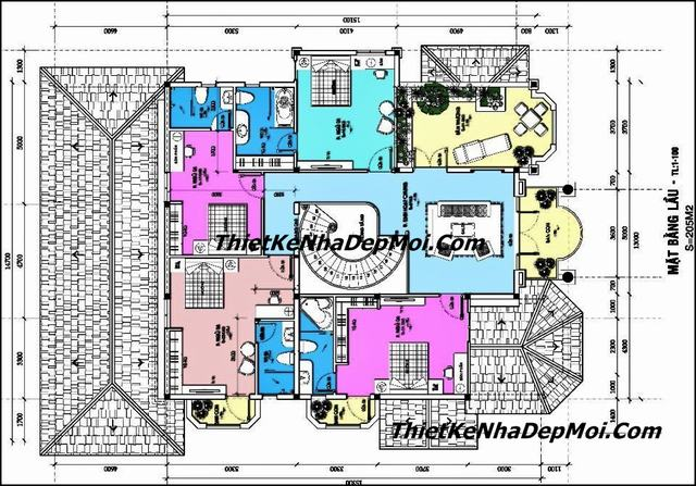 Thiết kế biệt thự vườn 200m2