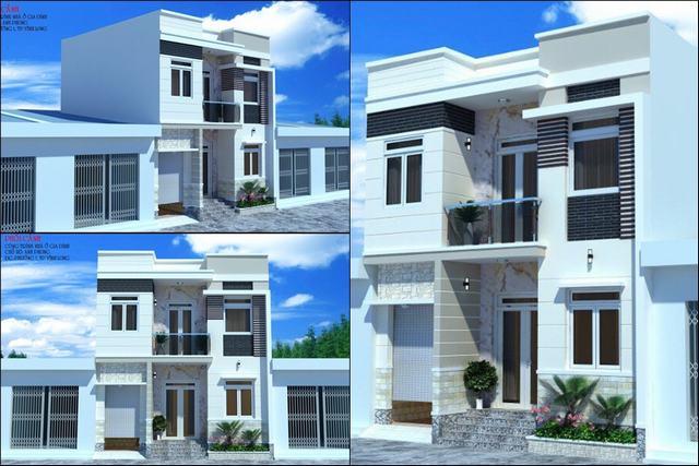Nhà đẹp 8x7m