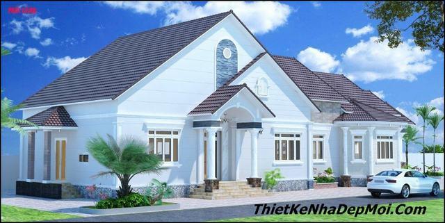 Thiết kế nhà 8x16 có phòng thờ