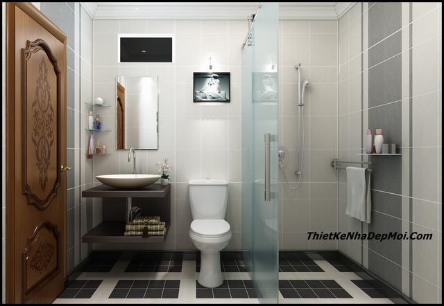 Phòng wc khách sạn 6m2