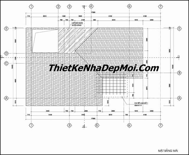 Bản vẽ nhà 2 tầng mái thái 120m2