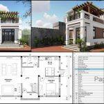 Mẫu nhà 2 tầng đẹp giá 700 triệu