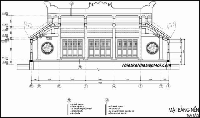 Thiết kế xây dựng chùa 2019