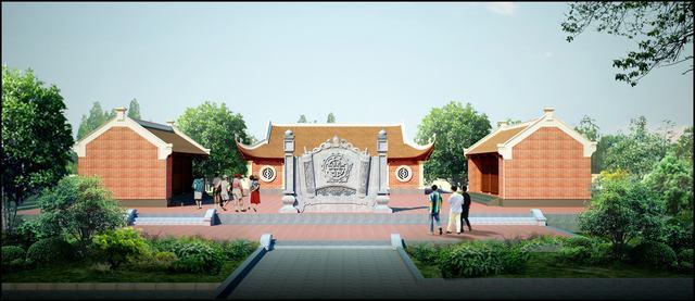 Bản vẽ thiết kế đình chùa 1 tầng đẹp