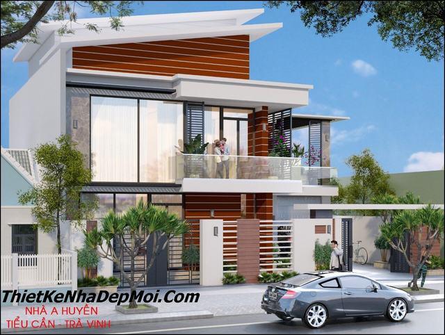 Nhà villa 2 tầng
