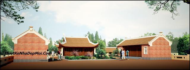mẫu thiết kế đền thờ