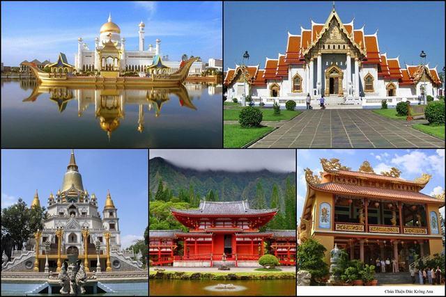 Những mẫu chùa đẹp nhất