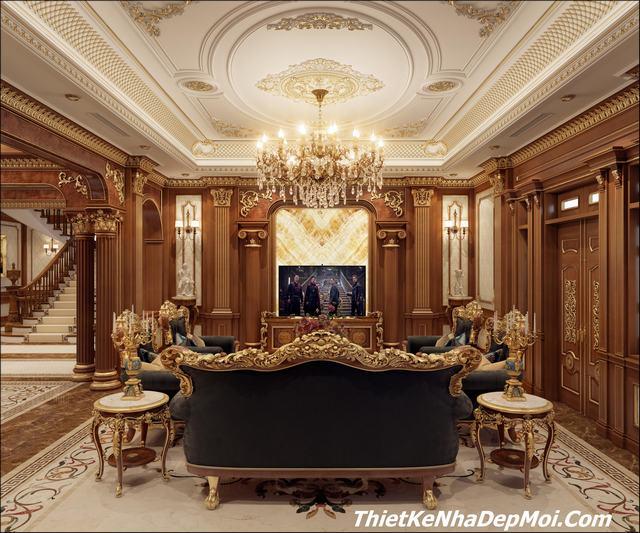 Kiến trúc sư chuyên thiết kế nội thất lâu đài