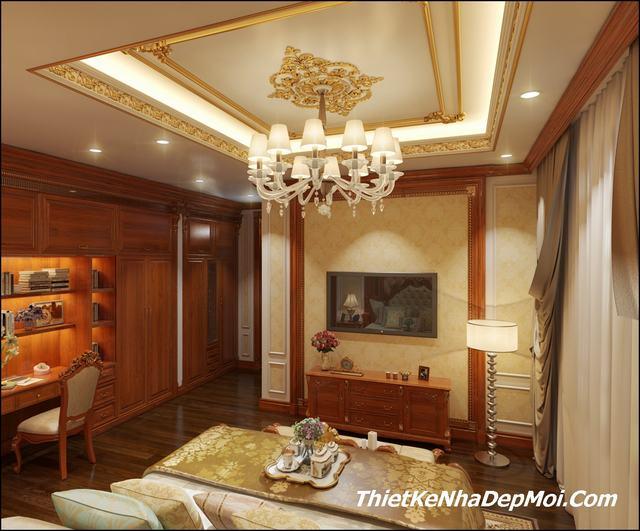 nội thất lâu đài Thanh Hóa