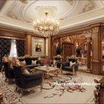Thiết kế nội thất lâu đài đẹp