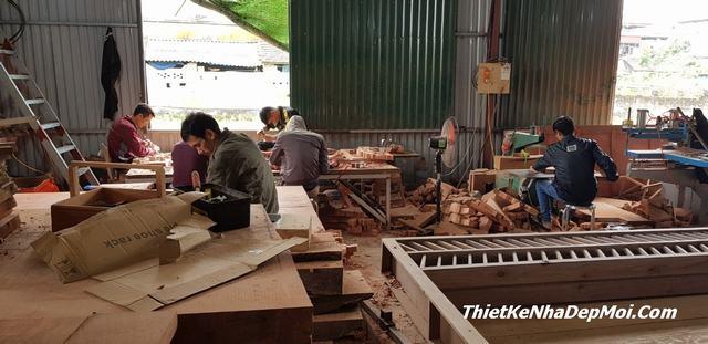 Chuyên thi công nội thất đồ gỗ