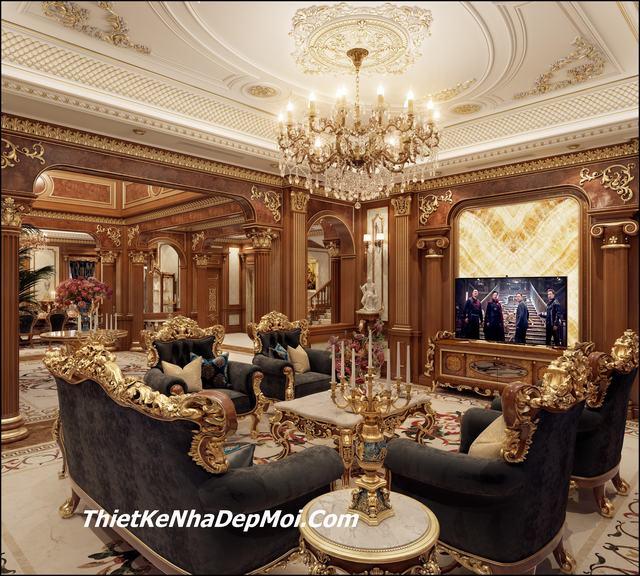 Mẫu nội thất lâu đài đẹp 2019