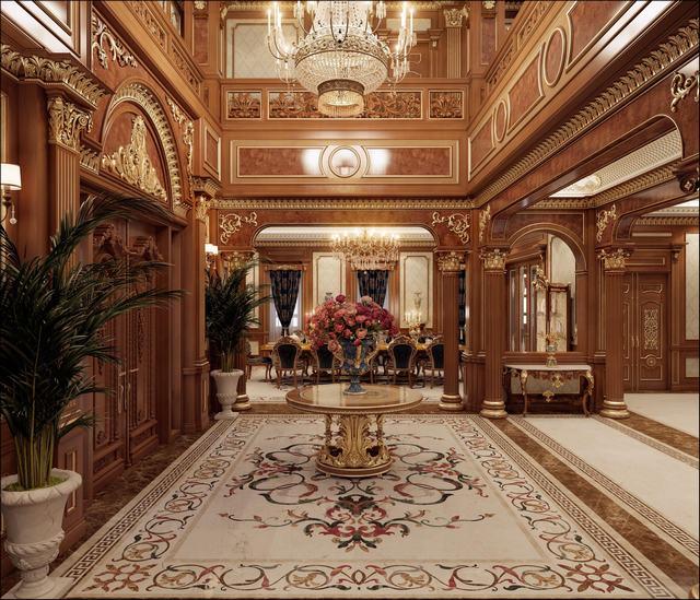 KTS thiết kế nội thất dinh thự tại Việt Nam