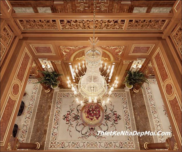 Nội thất lâu đài 15 tỷ