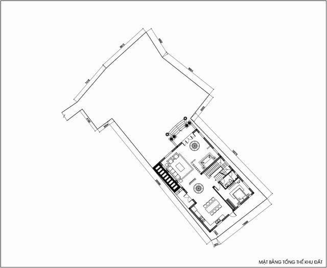 Đồ án thiết kế biệt thự kiểu pháp 3 tầng