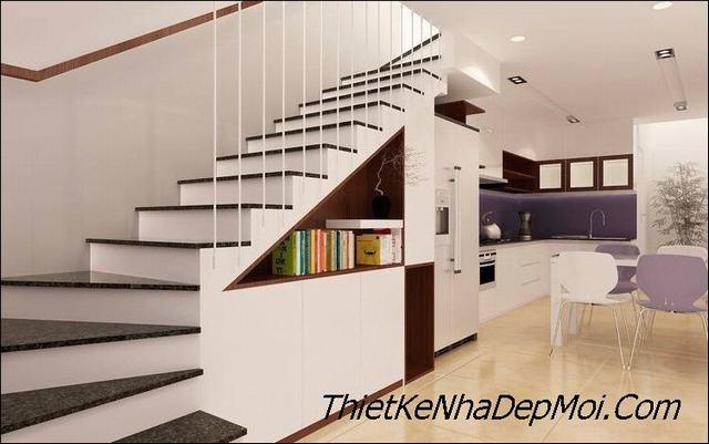 Các kiểu cầu thang tiết kiệm diện tích