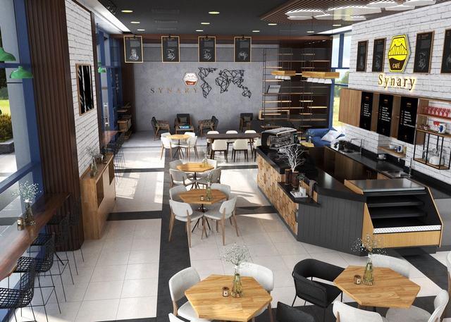 Nội thất quán cafe đẹp 2019
