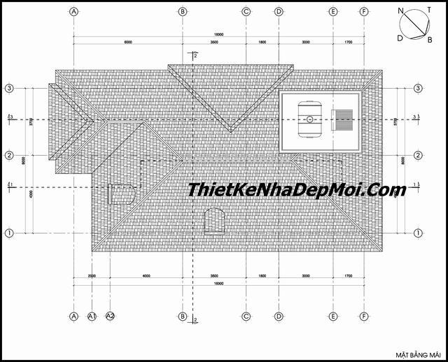 xây biệt thự tại Thái Bình