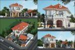 Chi phí xây nhà 2 tầng mái ngói