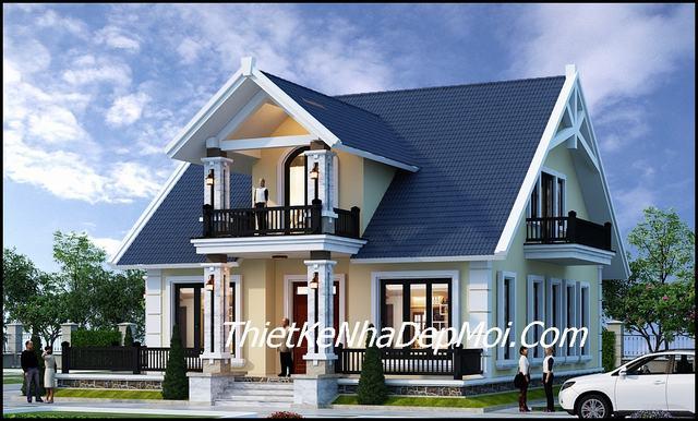 thiết kế nhà tầng lửng