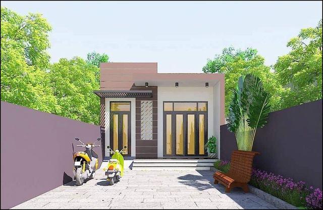 mẫu thiết kế nhà đẹp hiện đại 6x18m