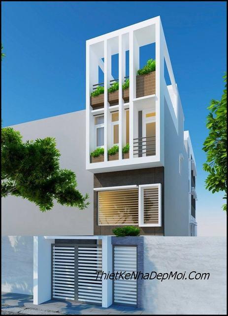 Thiết kế nhà đẹp cho diện tích nhỏ