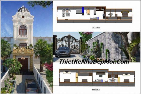Mẫu thiết kế nhà thóp hậu 2019
