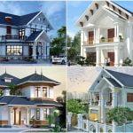 4 mẫu nhà đẹp 2 tầng mái thái nông thôn