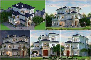 Thiết kế biệt thự theo phong cách châu âu