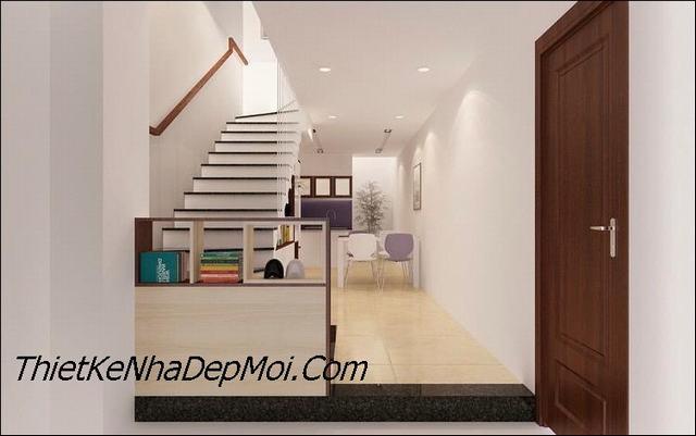 Không gian nhà nhỏ hẹp mà đẹp