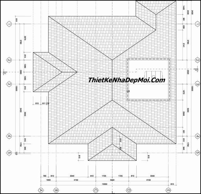 Bản vẽ xây nhà 1 tầng đẹp