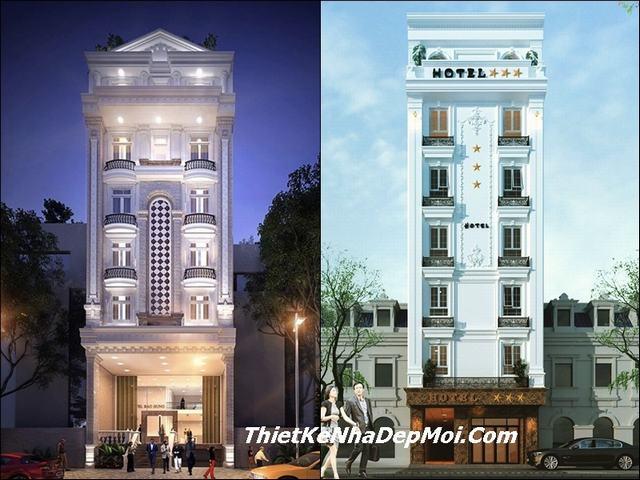 Mẫu thiết kế khách sạn đẹp 2019