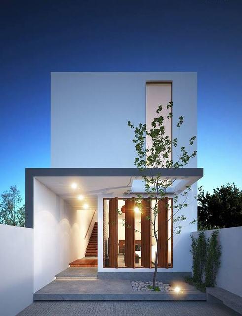 Nhà 1 trệt 1 lầu đơn giản 60m2