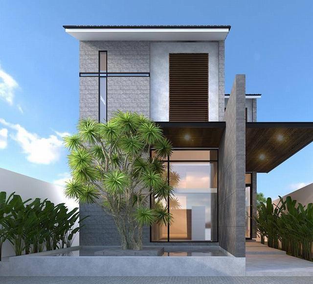 Mẫu nhà 2 tầng đơn giản giá rẻ