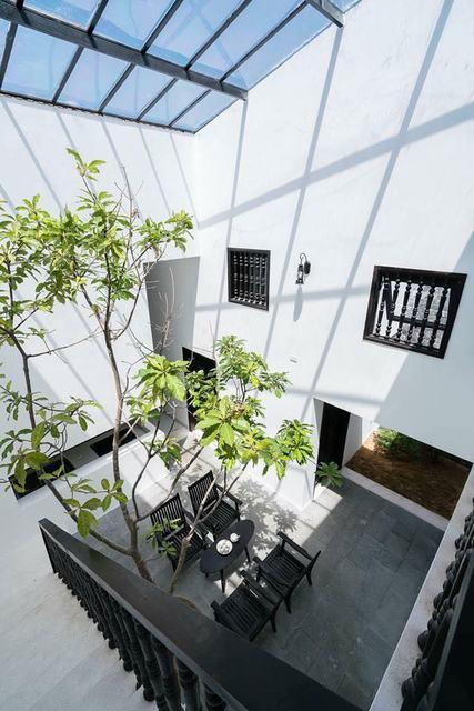 Không gian nhà ống 2 tầng đơn giản