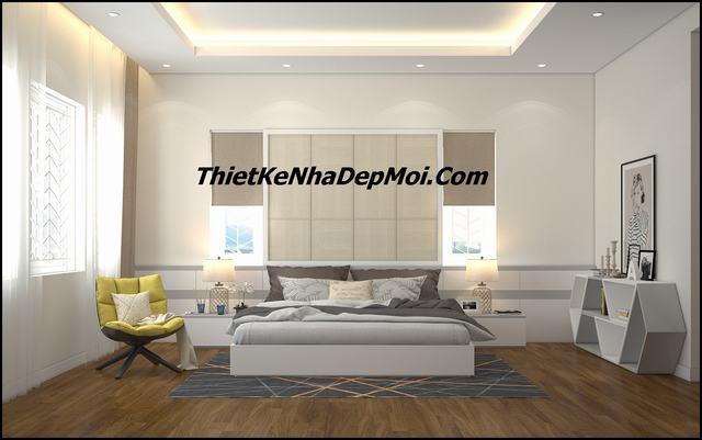 Thiết kế kiến trúc nội thất phòng ngủ
