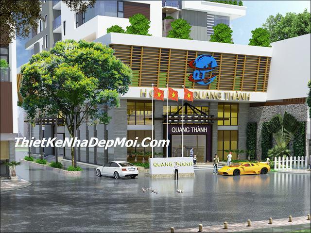 Thiết kế khách sạn 4 sao hiện đại