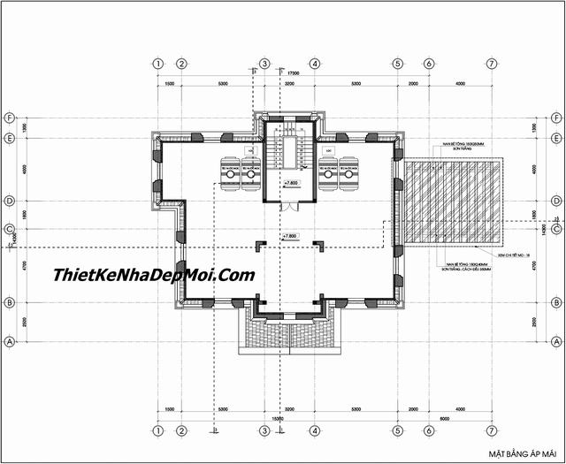 Bản vẽ thiết kế lâu đài mini 200m2