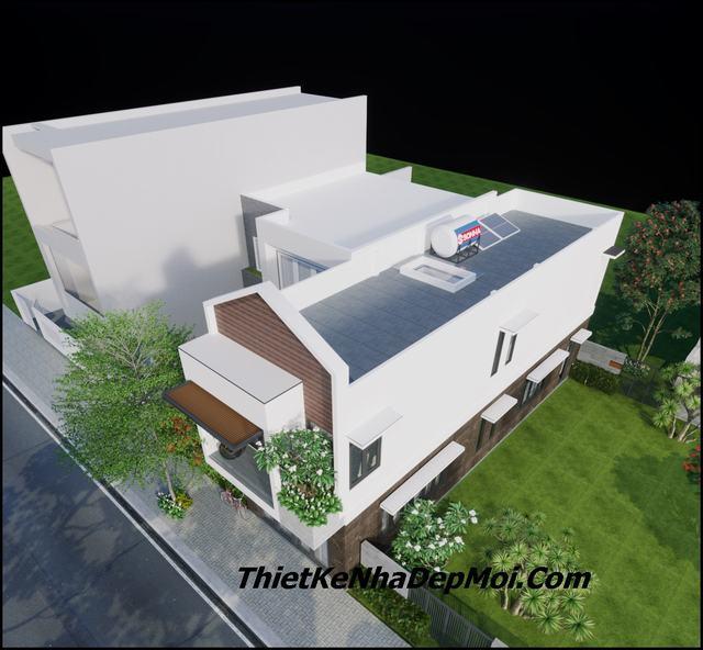 Nhà 2 tầng giá rẻ 5x17m