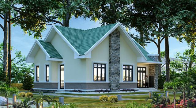 Mẫu nhà mái Thái Lan đẹp nhất