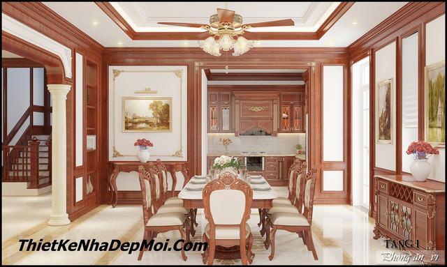 Thiết kế không gian phòng ăn đẹp