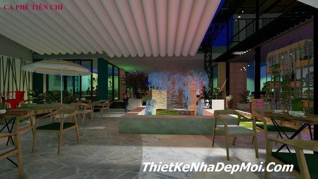 Cách thiết kế quán cafe sân vườn
